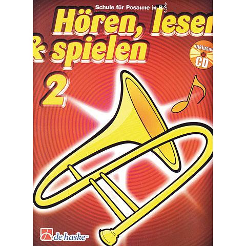 De Haske Hören,Lesen&Spielen Bd. 2 für Posaune in B