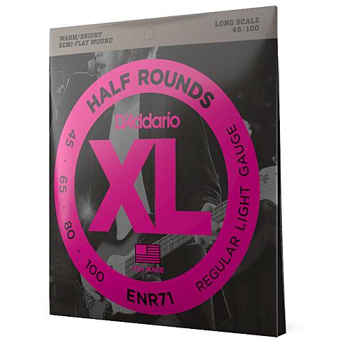 D'Addario ENR71 Half Rounds .045-100
