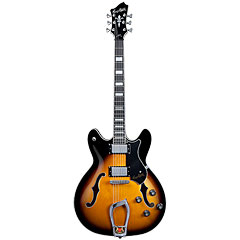 Hagstrom Viking Tobacco Sunburst « Guitare électrique