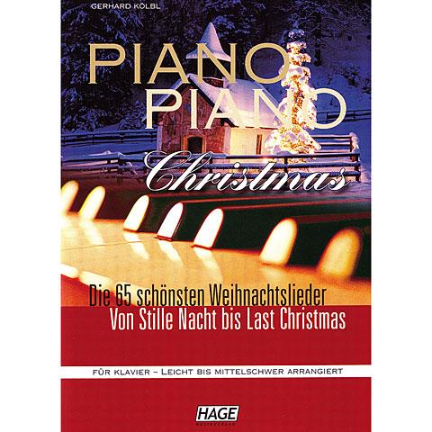 Hage Piano Piano Christmas