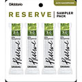 D'Addario Reserve Altsax Sampler Pack 2,5/3,0/3,0/3,0+ « Anches