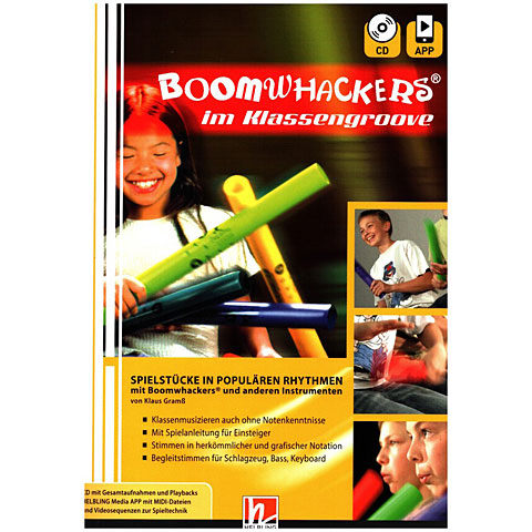 Helbling Boomwhackers im Klassengroove