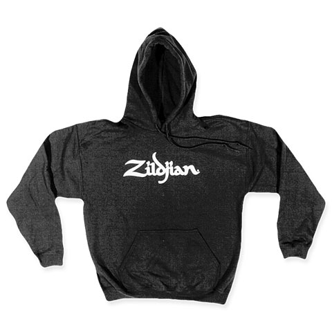 Zildjian Classic T7103 Hoodie Black White Logo L