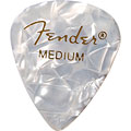 Médiators Fender 351 White Moto, thin (12 Stk.)