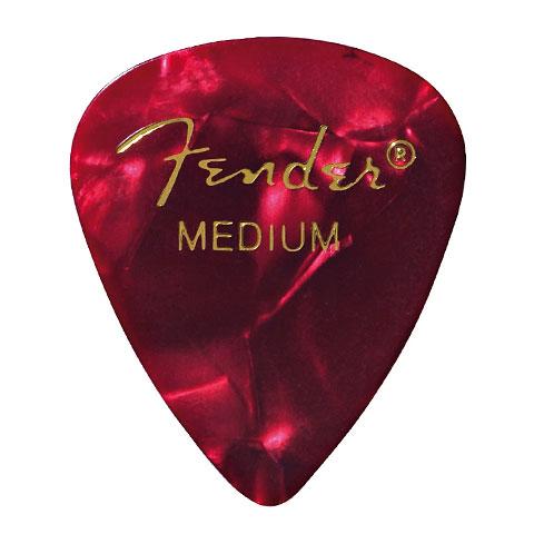 Fender 351 Red Moto, medium (12 Stk.)