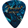 Fender 351 Ocean Turq., thin (12 Stk.) « Médiators