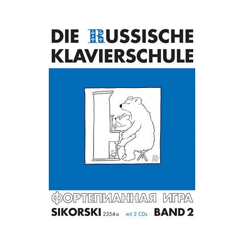 Sikorski Die Russische Klavierschule Bd.2 inkl. 2 CDs